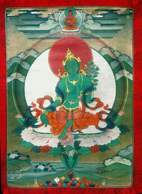 Green Tara Shechen