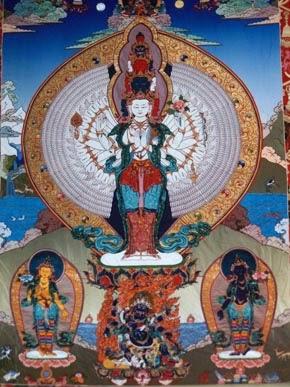 Ченрези - Авалокитешвара